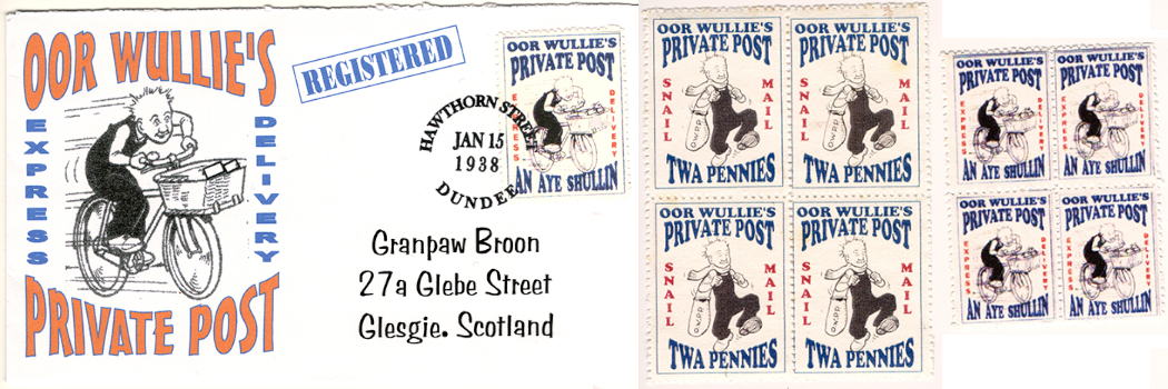 Gerald King - Oor Wullie´s Private Post